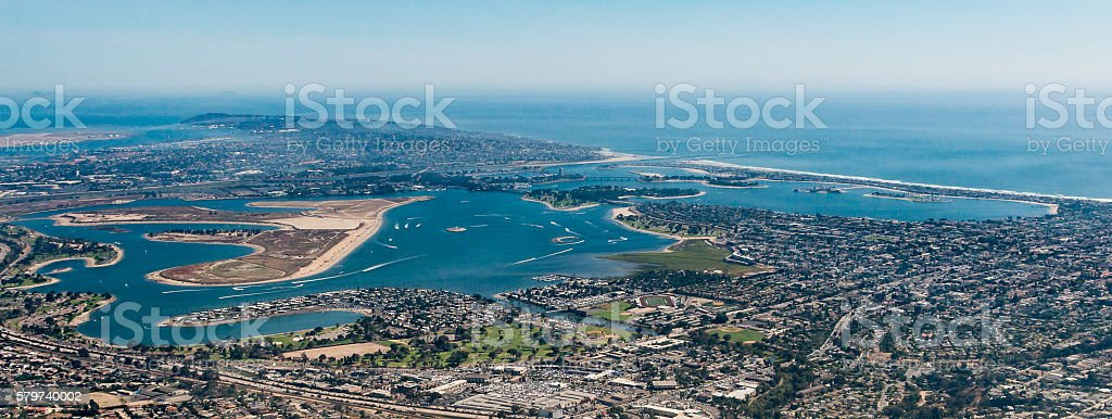 Mission Bay stock photo