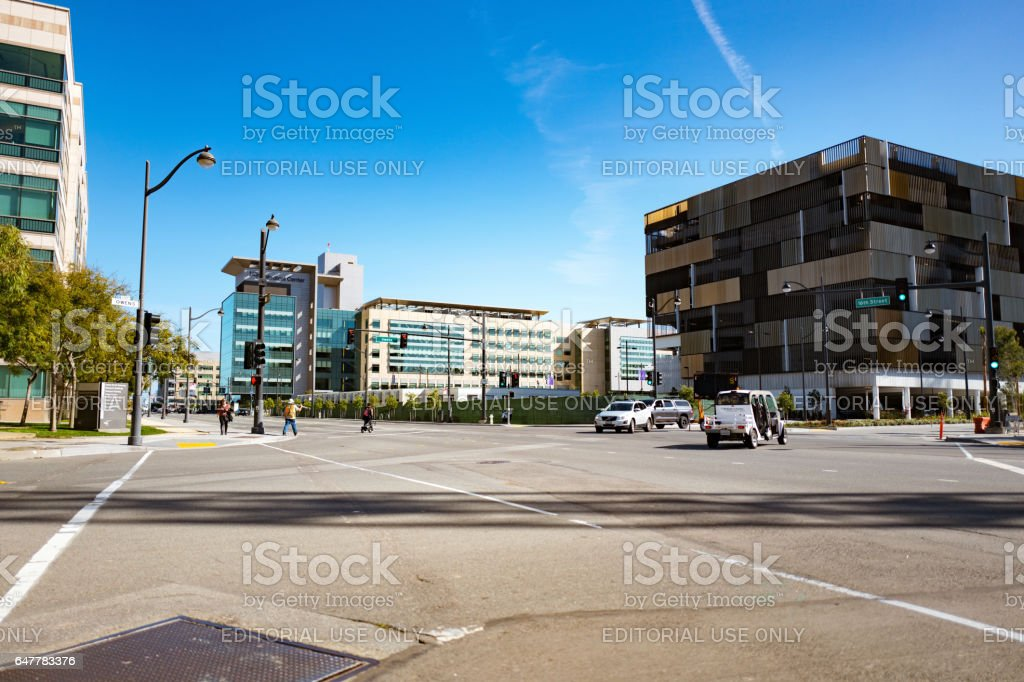 UCSF Mission Bay stock photo
