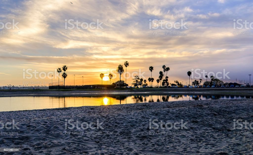Mission Bay, San Diego, California stock photo