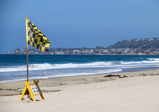 Mission Beach stock photo
