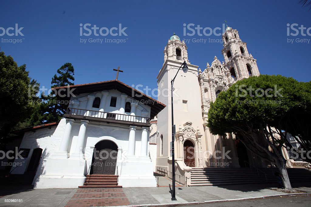 Mission Dolores stock photo