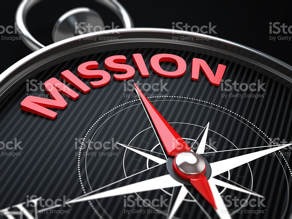 Mission stock photo