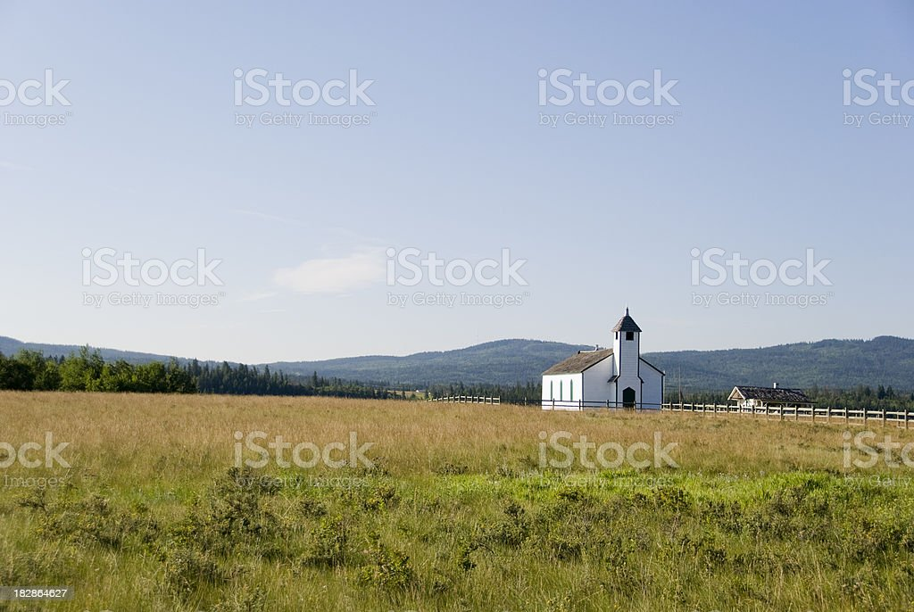 Mission Post royalty-free stock photo