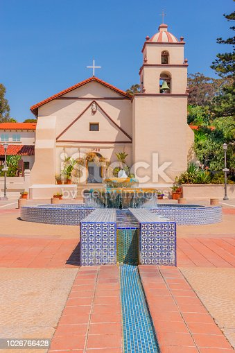 Mission Sanbuenaventura in Ventura, CA.