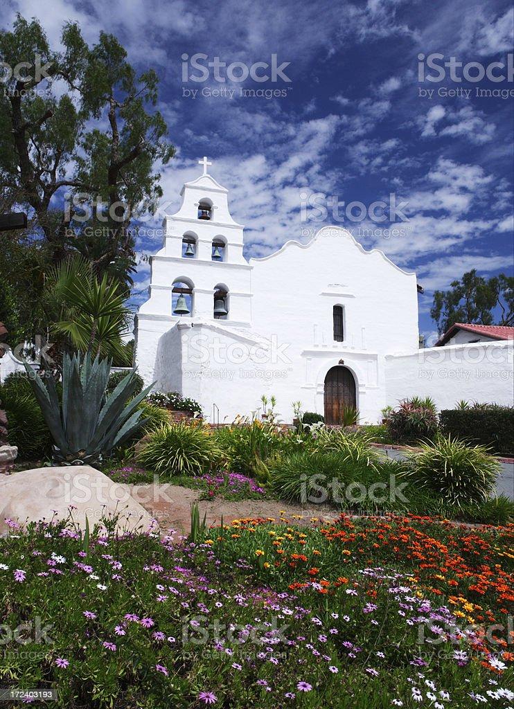Mission San Diego stock photo