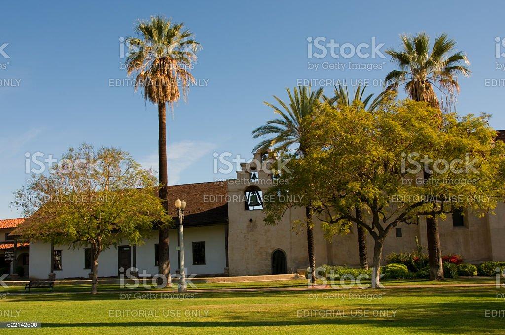 Mission San Gabriel stock photo