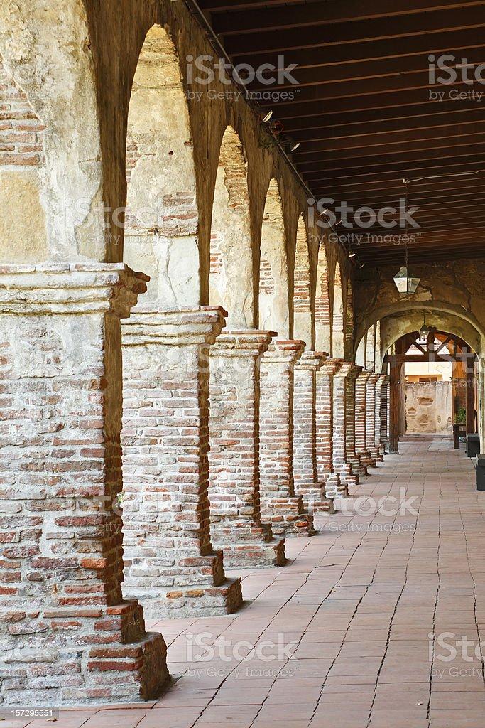 Mission San Juan Capistrano royalty-free stock photo