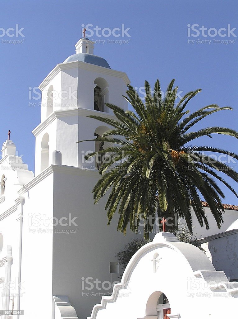 mission san luis rey - california royalty-free stock photo