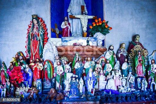 Shrine, Mission San Xavier del Bac, Arizona, USA