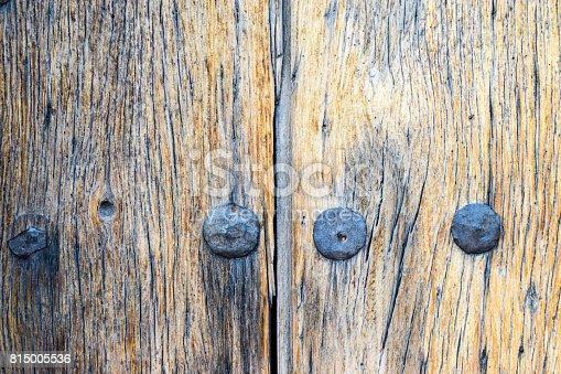 Wooden door details, Mission San Xavier del Bac, Arizona, USA