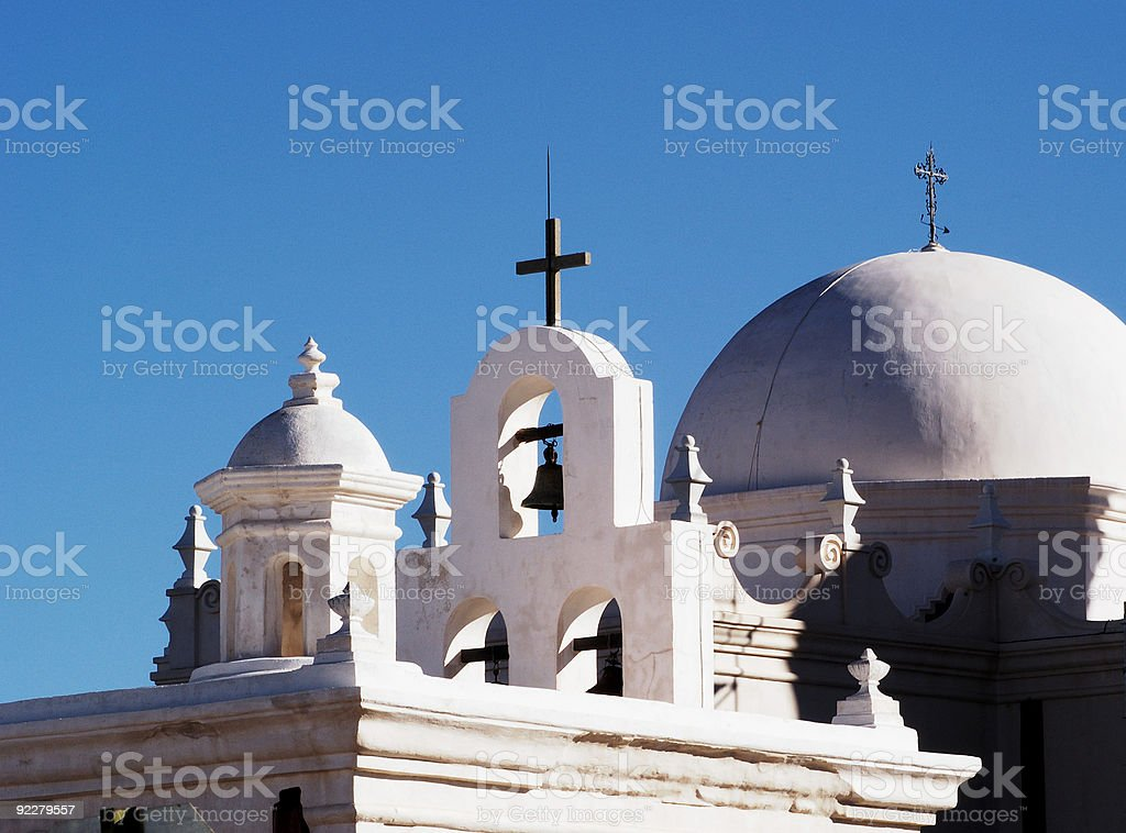 Mission San Xavier Del Bac royalty-free stock photo