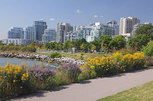 Mississauga Residential District  buzbuzzer stock pictures, royalty-free photos & images