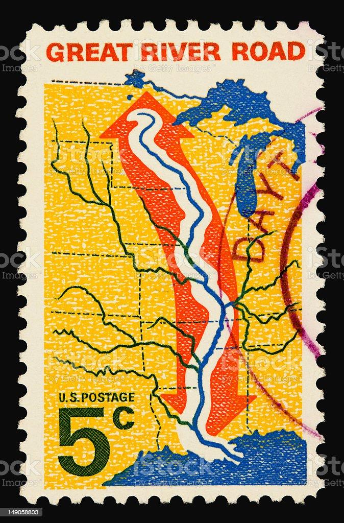 Mississippi 1966 royalty-free stock photo