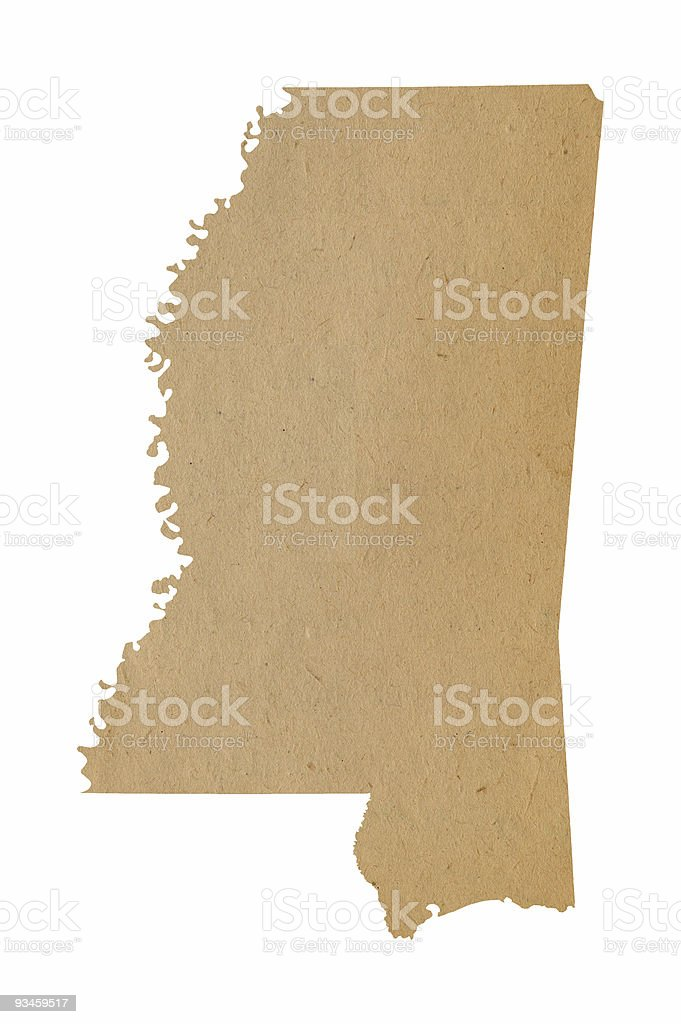 Mississippi Recycles stock photo