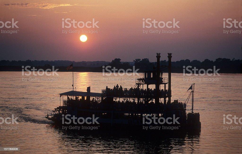 Mississippi River stock photo