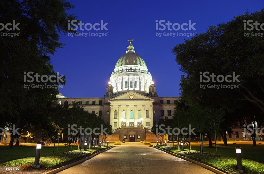 Mississippi State Capitol royalty-free stock photo