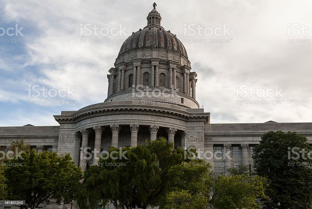 Missouri Capitol Building stock photo