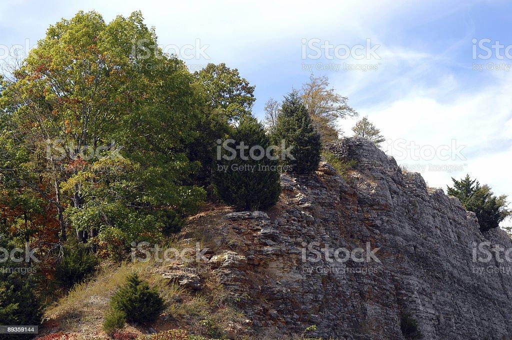 ミズーリの崖 ロイヤリティフリーストックフォト
