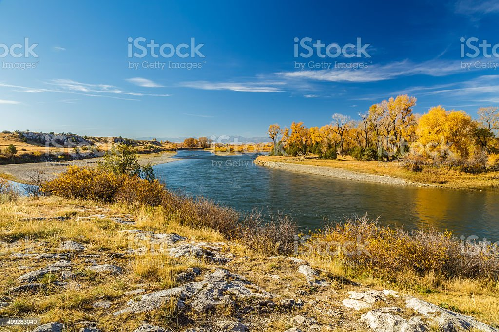 Missouri Headwaters Park stock photo