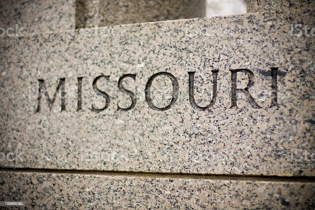 Missouri royalty-free stock photo
