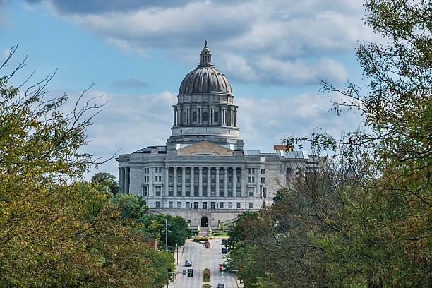 Missouri State Capitol Building stock photo