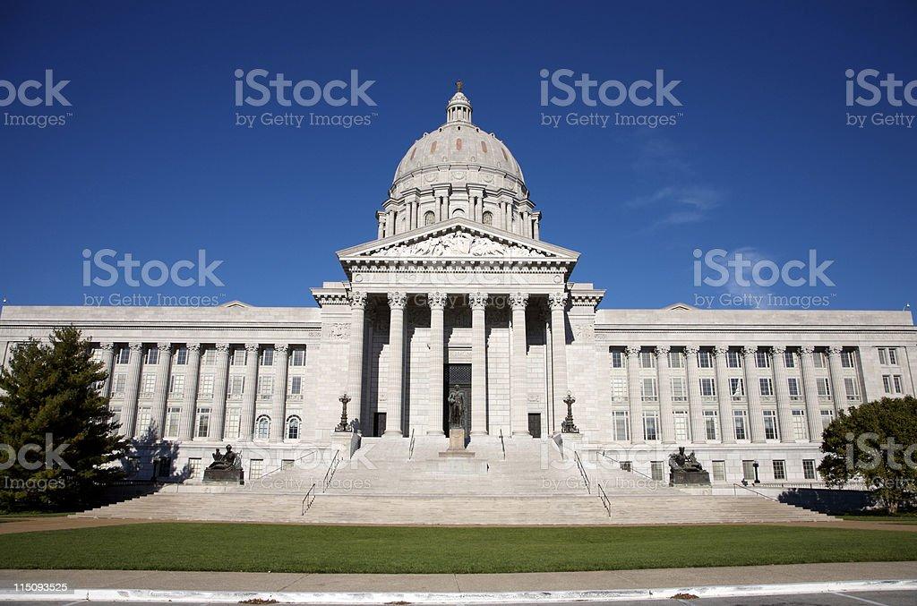 Missouri state capitol - Jefferson City royalty-free stock photo