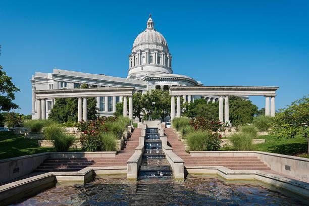 Missouri State Capitol stock photo
