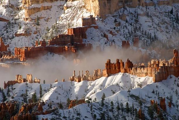 Nebel im Bryce-Canyon – Foto