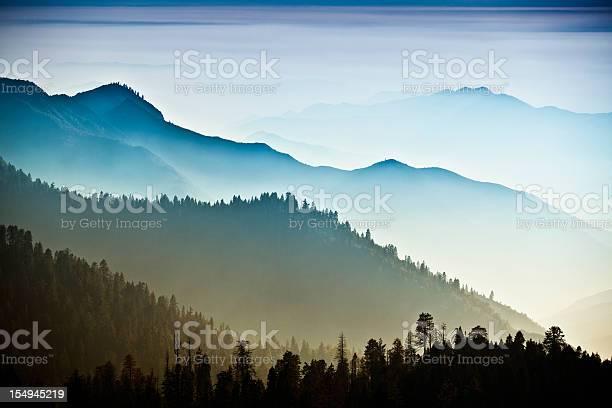 Photo of Mist on the Sierra Nevada Mountains