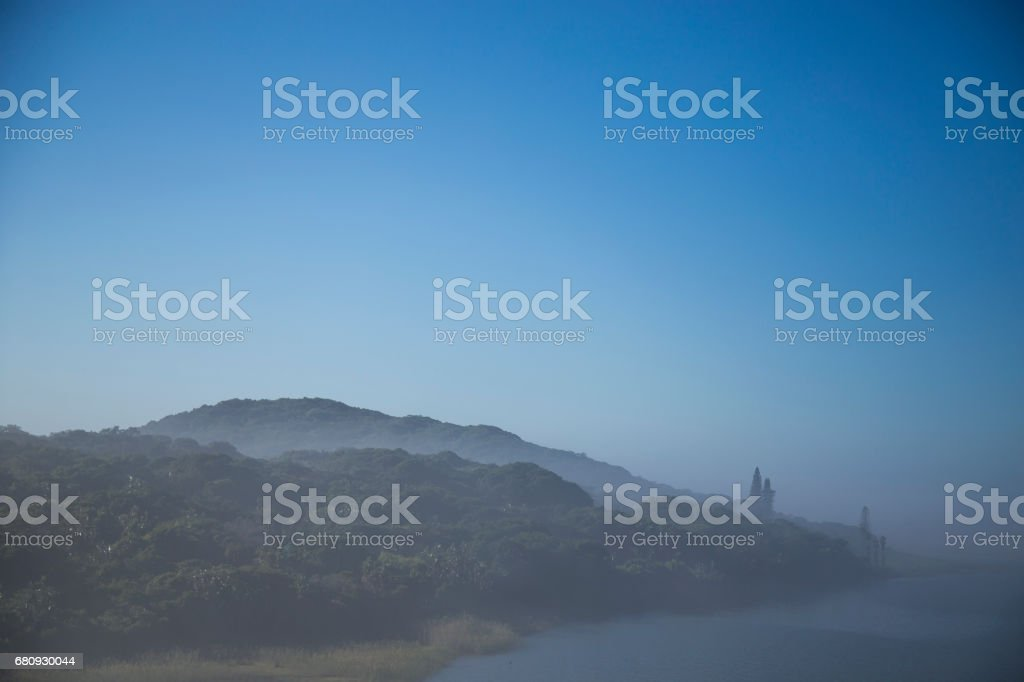 Mist Rising stock photo