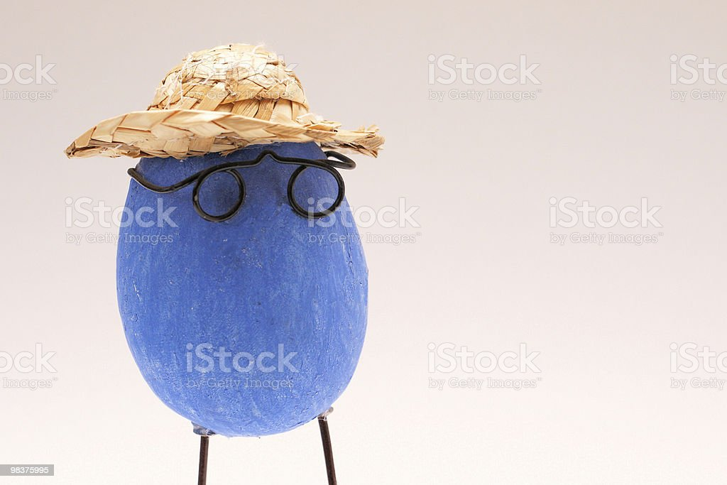 Mister easter-egg royalty-free stock photo