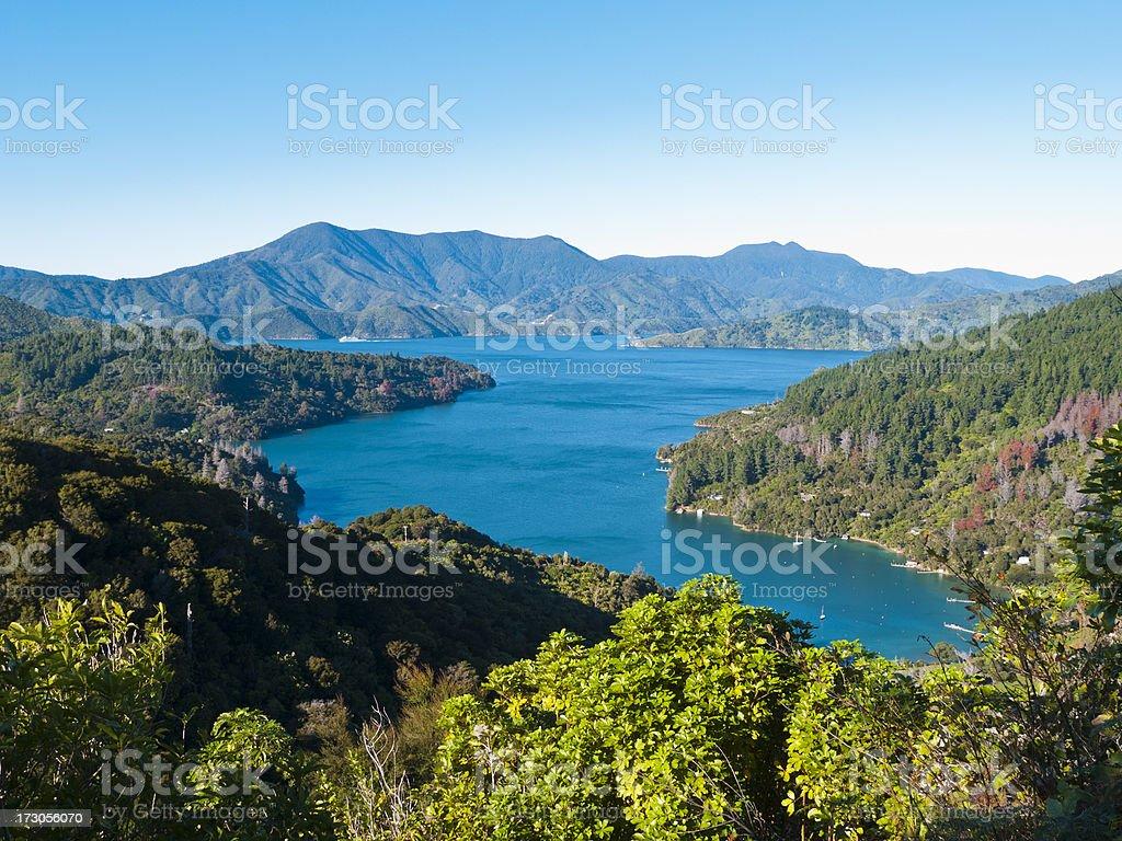 Mistletoe Bay stock photo