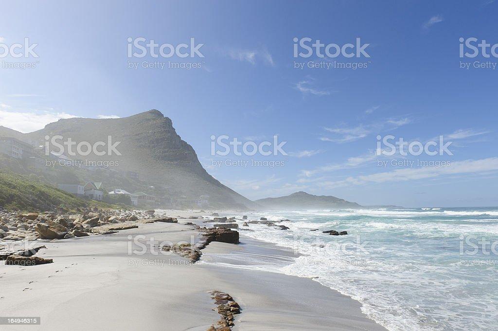 Misty Cliffs stock photo