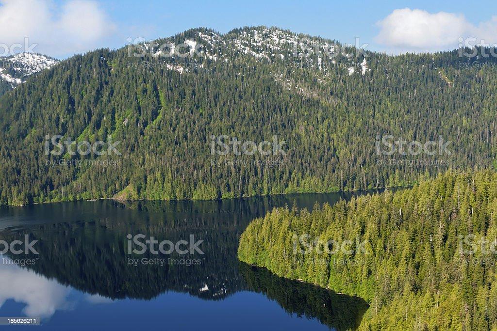 Misty Fjord stock photo