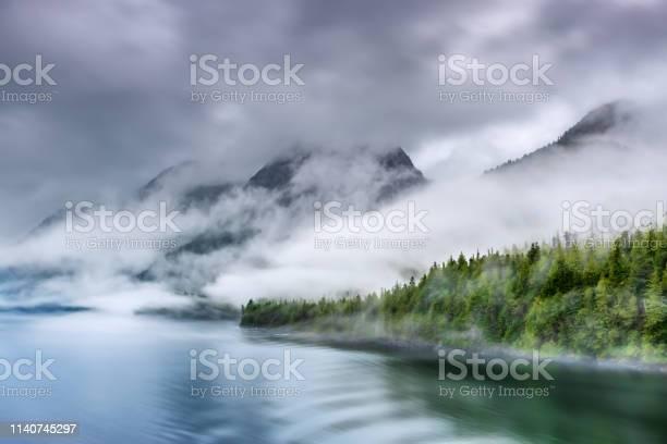 Photo of Misty Fjord Shoreline, Alaska