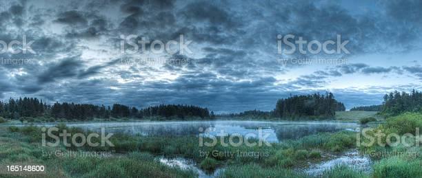 Photo of Misty lake