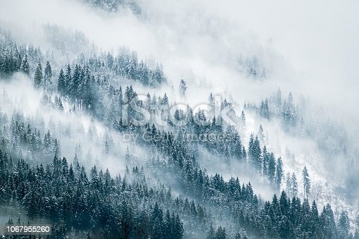 istock Misty Mountains 1067955260
