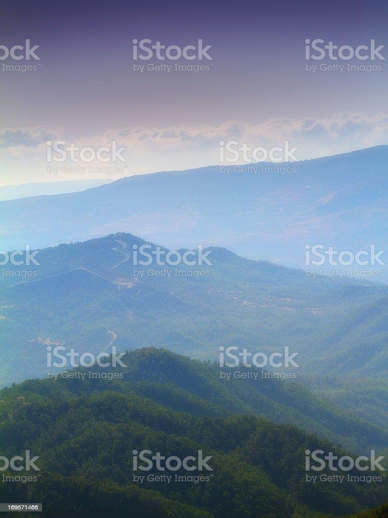 Majestätischer Berge. Lizenzfreies stock-foto