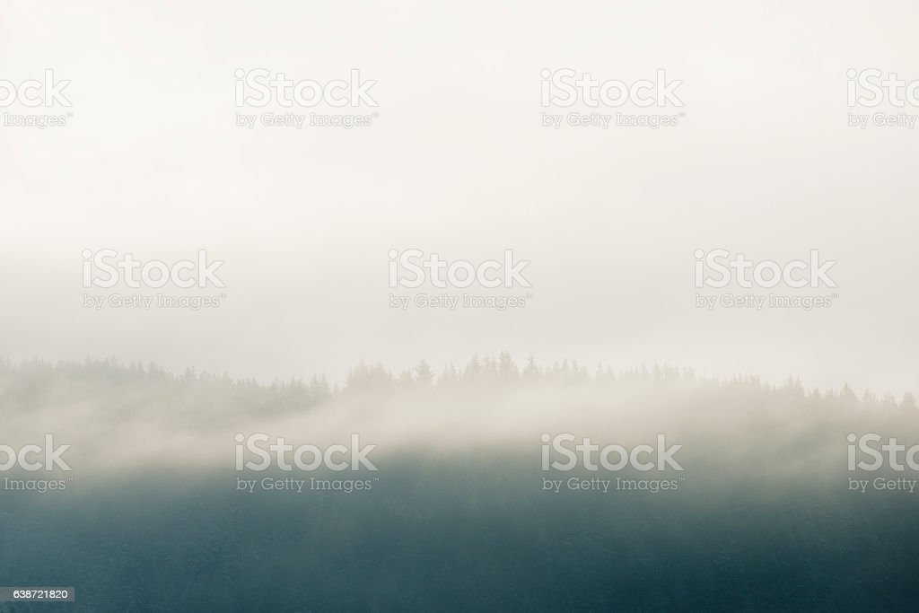 Misty Mountains - Royalty-free Cloud - Sky Stock Photo