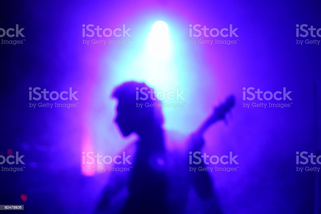 misty player royalty-free stock photo