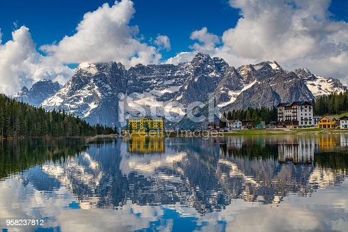 Misurina Lake, Dolomites, Italy