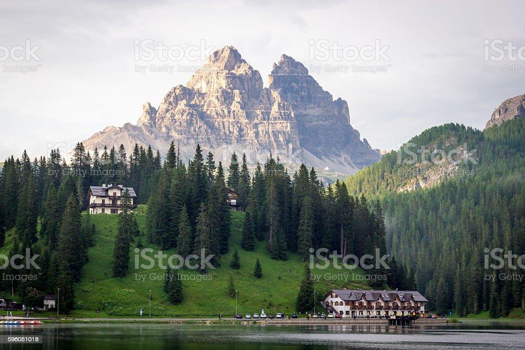 Misurina Lake royalty-free stock photo