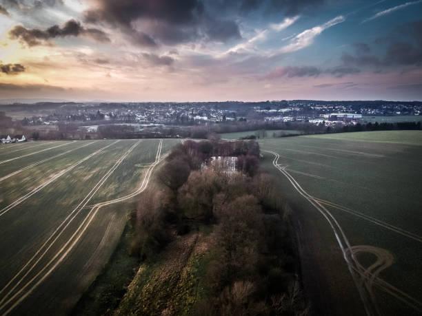 Mit der Drohne Über Bielefeld – Foto