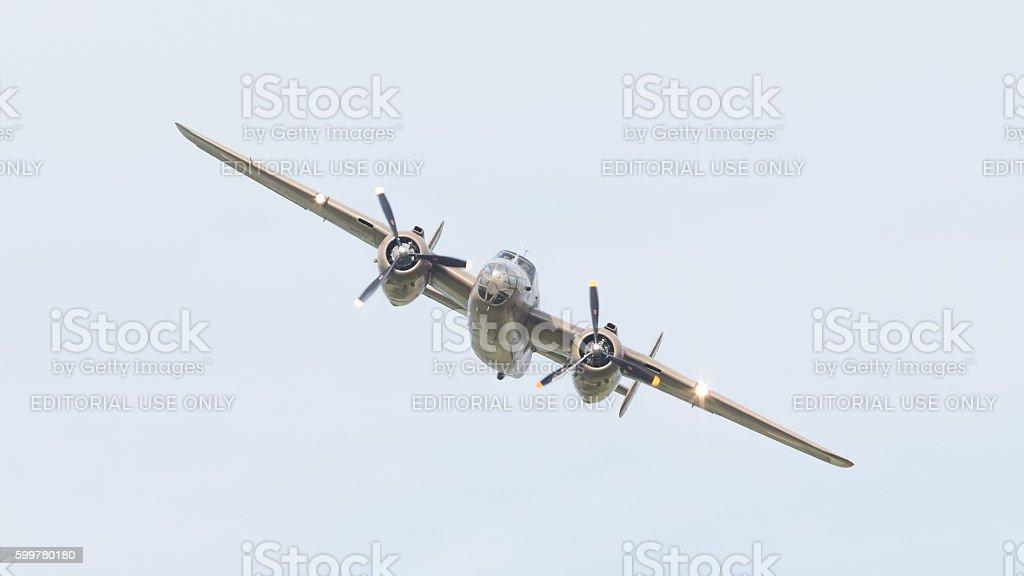 bombardiere WW2 B-25 Mitchell - foto stock