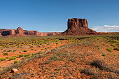 istock Mitchell Butte in Oljato–Monument Valley 883426620