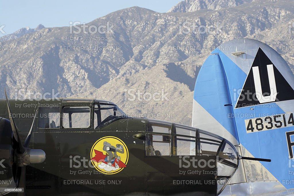 B-25 Mitchell stock photo