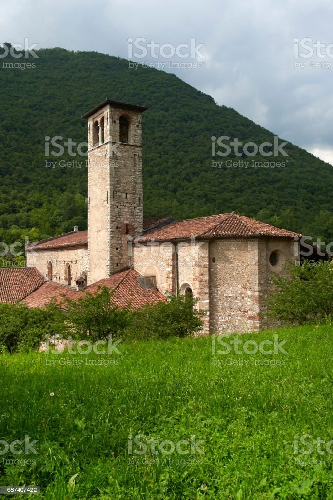 mitria church stock photo