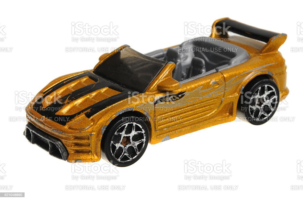 2004 Mitsubishi Eclipse Hot Wheels Diecast Toy Car Royalty Free Stock Photo