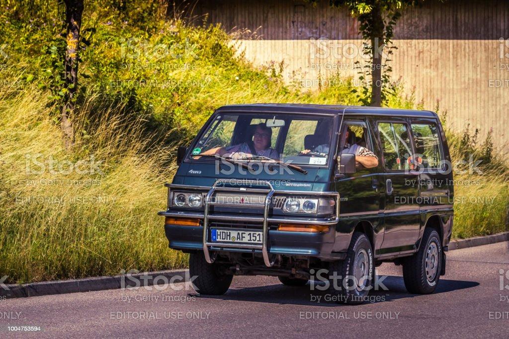 Mitsubishi L300 4WD stock photo