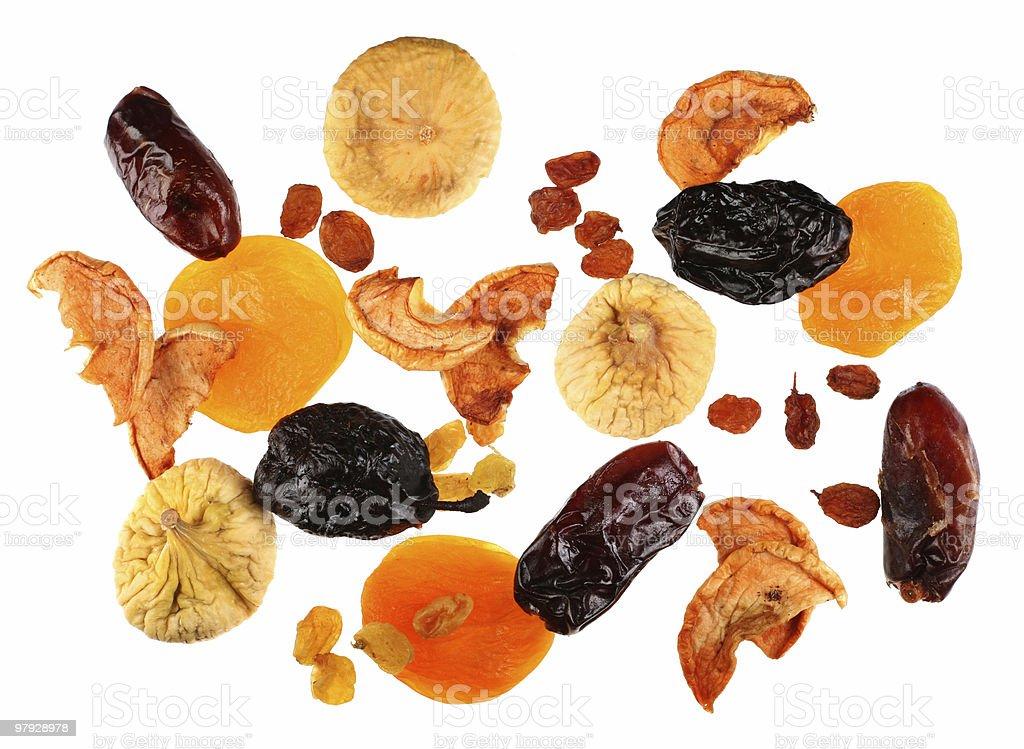 Mix dry fruit royalty-free stock photo